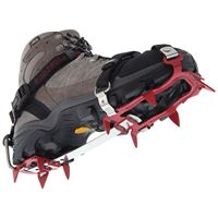 Kahtoola KTS Steel 10 Point Flexi Crampon in use