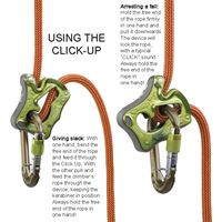 Climbing Technology Click Up Usage