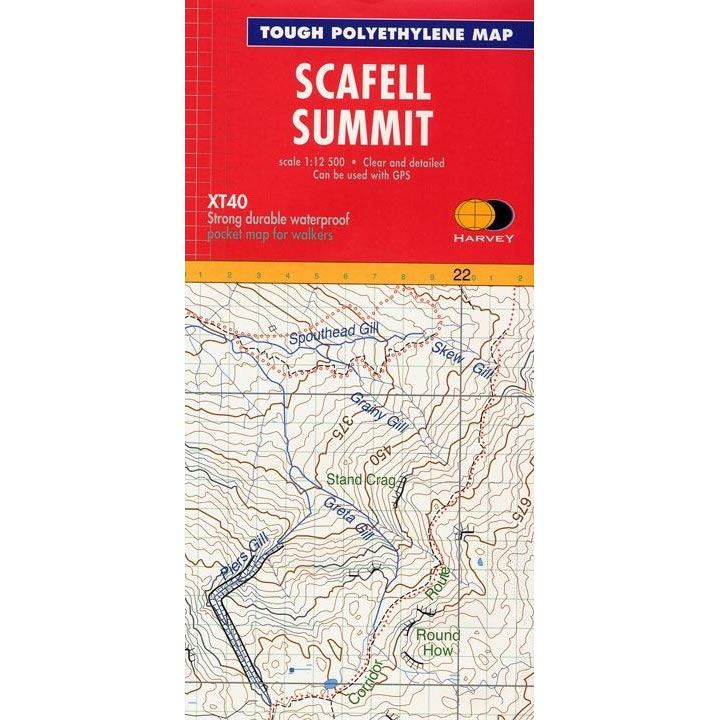 Harvey Summit Map Scafell