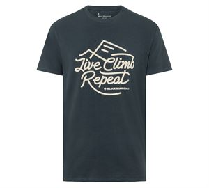 Black Diamond Men's Live Climb Repeat Tee Eclipse