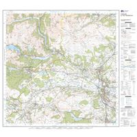 OS Landranger 57 Paper - Stirling & The Trossachs sheet