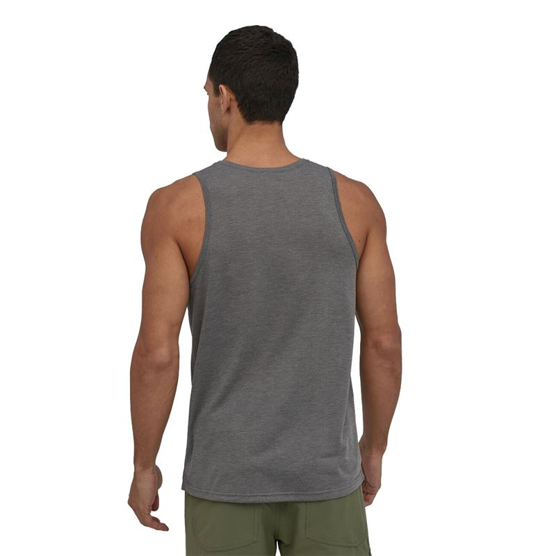 Patagonia Men's Capilene Cool Trail Tank Forge Grey