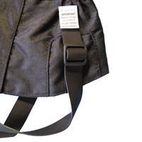 Rab Plain Gaiter Straps in use