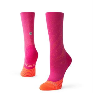 Stance Women's Uncommon Run Crew Pink