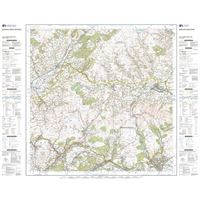 OS Landranger 160 Paper - Brecon Beacons sheet