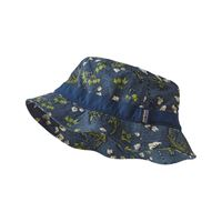 Patagonia Wavefarer Bucket Hat Cotton Ball Gators: Dolomite Blue
