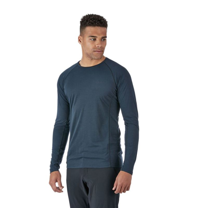 Rab Men's Forge LS Tee Beluga