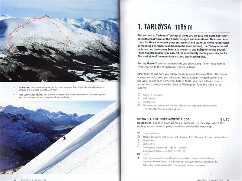 Ski Touring in Romsdalen pages