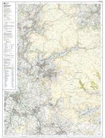 OS OL1 The Peak District - Dark Peak west sheet