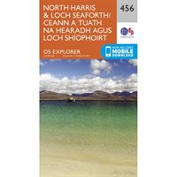 OS Explorer 456 Paper - North Harris and Loch Seaforth
