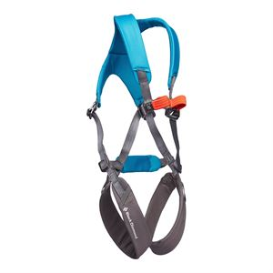 Black Diamond Momentum Kid's Full Body Harness Azul