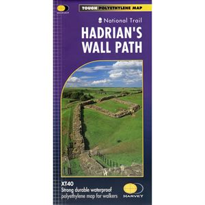 Harvey Hadrian's Wall Path 1:40000