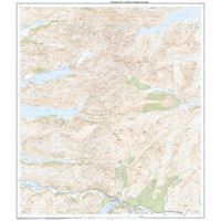 OS Explorer 398 Paper Loch Morbar & Mallaig 1:25,000 east sheet