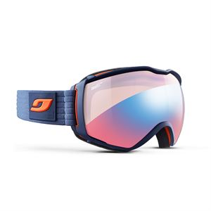 Julbo Aerospace Zebra Goggles Light Red Cat 1-3 Dark Blue/Orange