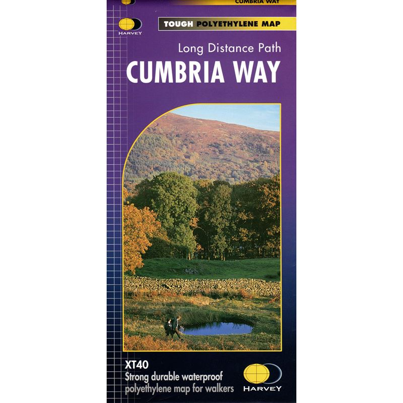 Harvey Cumbria Way Map