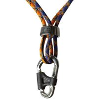 DMM Belay Master 2 HMS Screwgate Karabiner in use