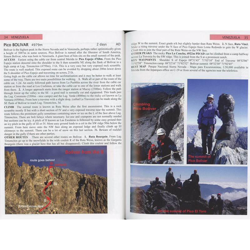 The Andes pages
