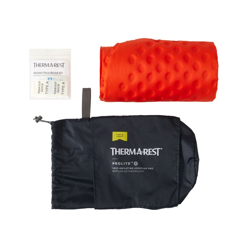 Thermarest ProLite Poppy Regular contents