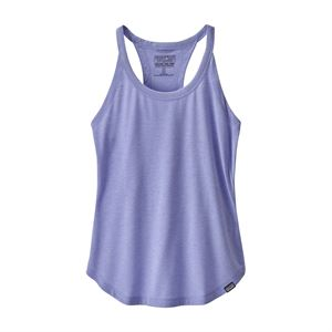 Patagonia Women's Capilene Cool Trail Tank Top Light Violet Blue