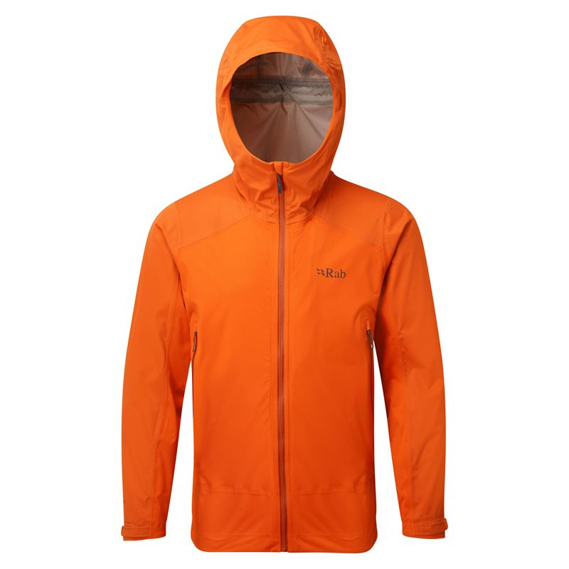 Rab Men's Kinetic Alpine Jacket Firecracker