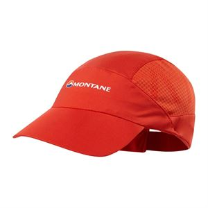 Montane Cadenza Cap Flag Red