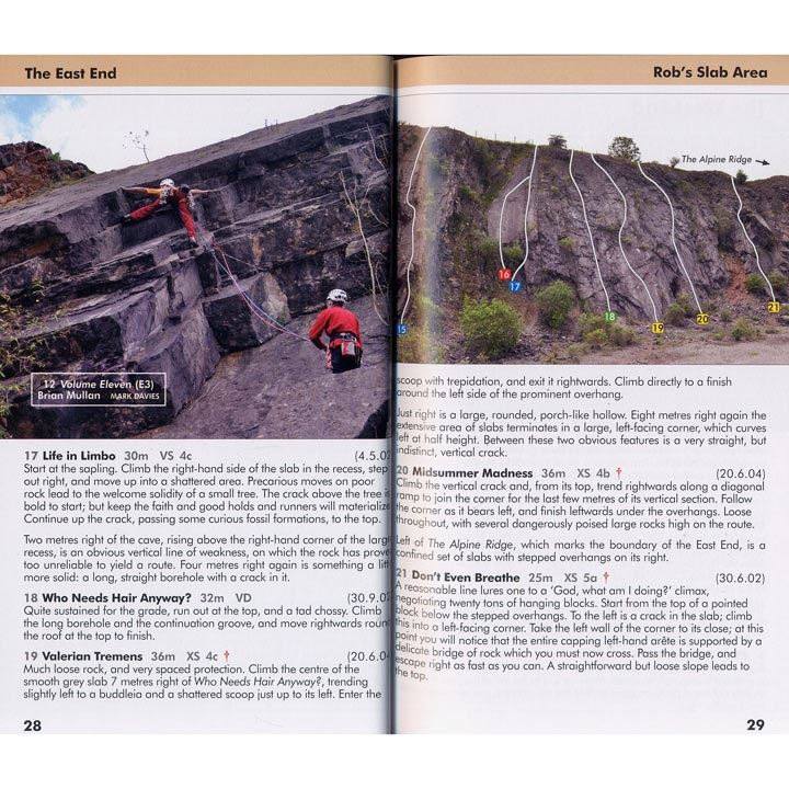 Fairy Cave Quarry pages