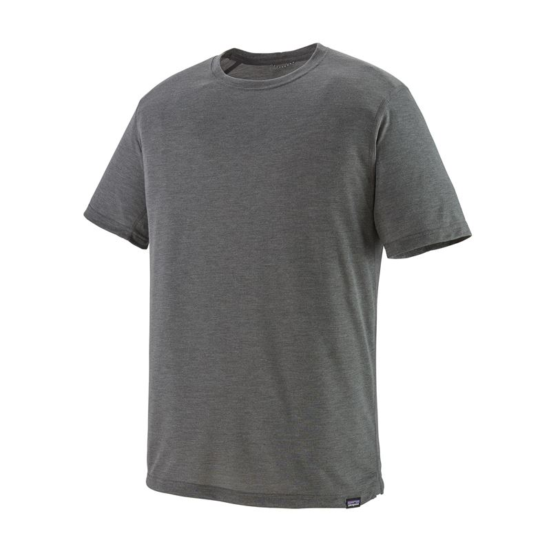 Patagonia Men's Capilene Cool Trail Shirt Forge Grey