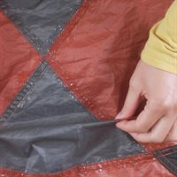 Gear Aid Seam Grip in use