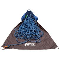 Petzl Kab Ropebag Blue in use