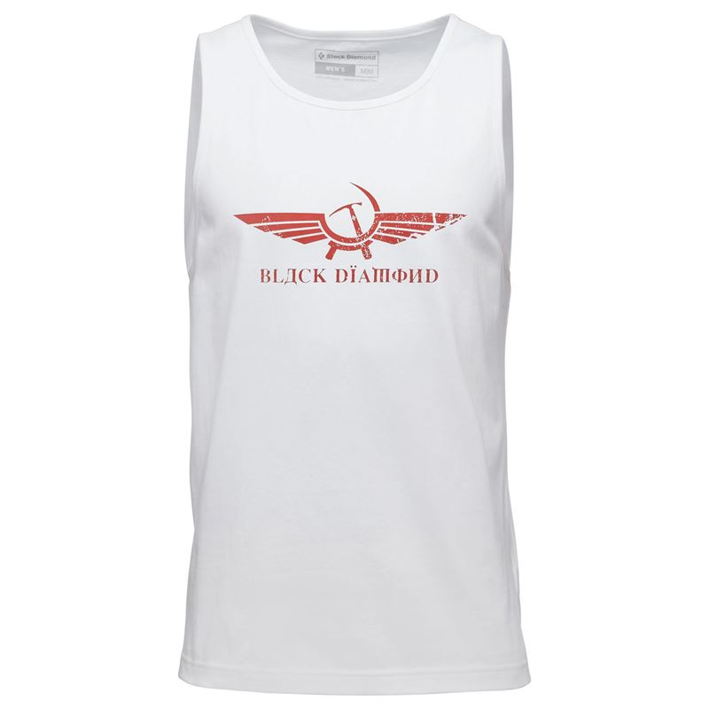 Black Diamond Men's Perestroika Tank White