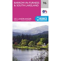 OS Landranger 96 Barrow-in-Furness & South Lakeland