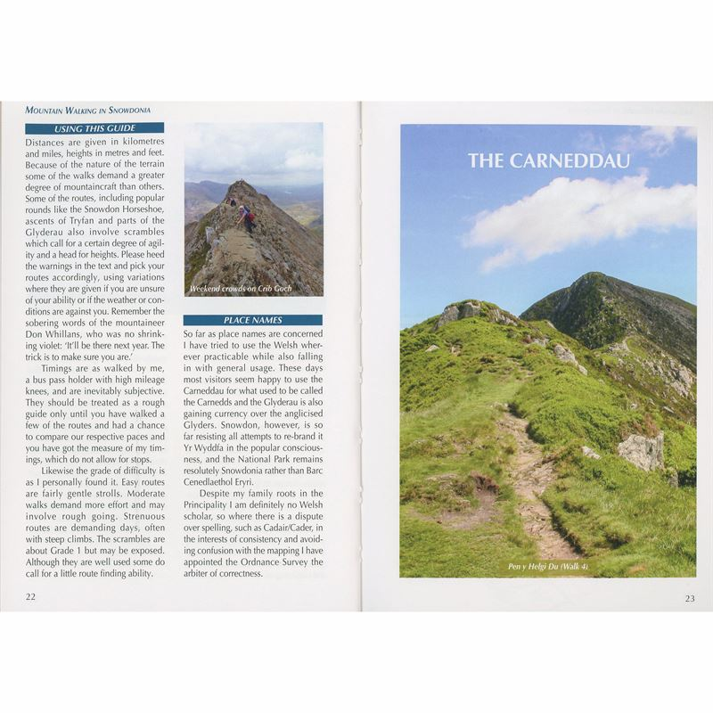 Mountain Walking Snowdonia pages