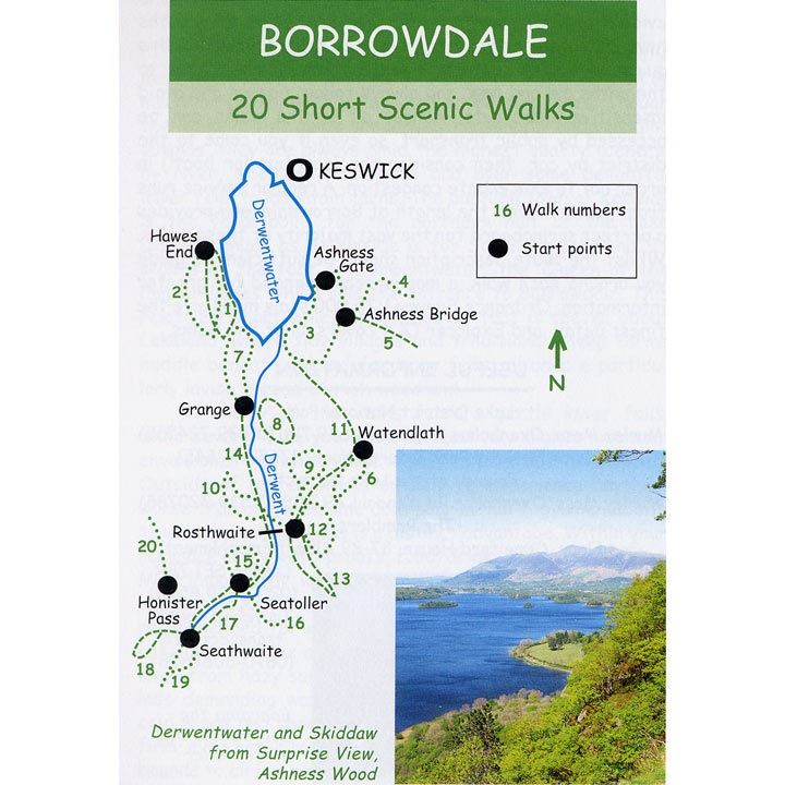Short Scenic Walks - Borrowdale pages coverage