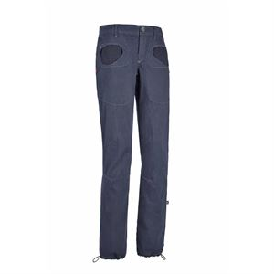 E9 Women's Onda Stars Trousers Blue Navy