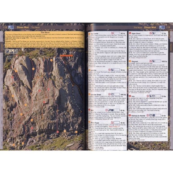North Wales Climbs pages