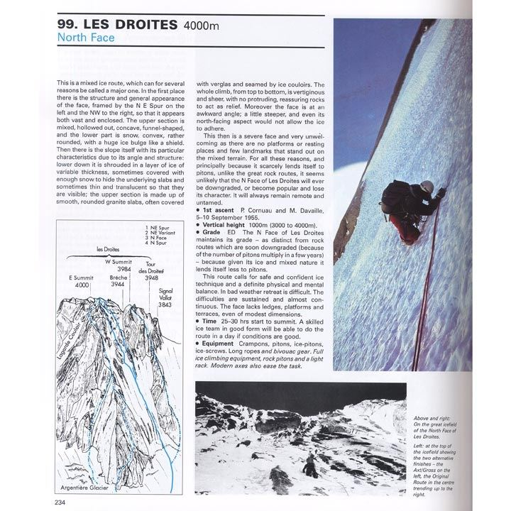 The Mont Blanc Massif - The Hundred Finest Routes pages