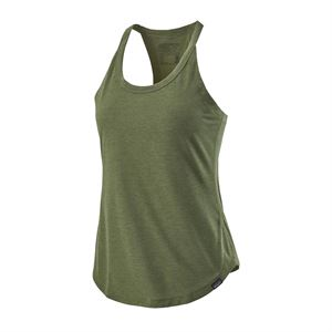 Patagonia Women's Capilene Cool Trail Tank Camp Green