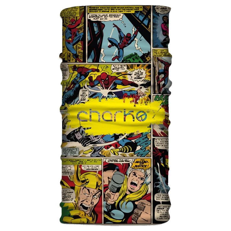 Charko Tubular Neck Warmer Comic Book