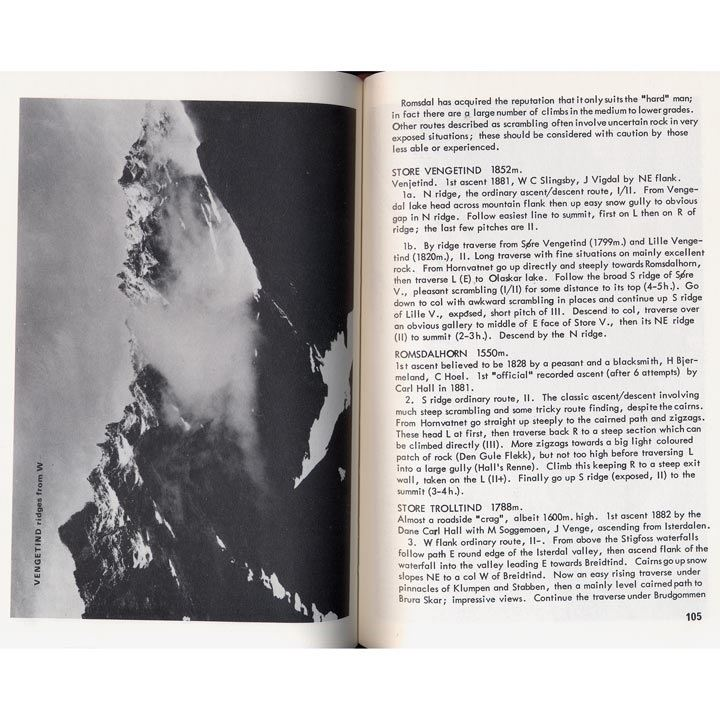 Scandinavian Mountains pages