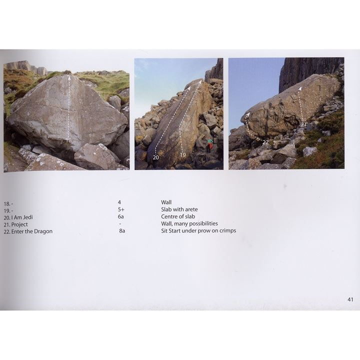 Fairhead Bouldering Guide page