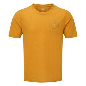 Montane Men's Trad T-Shirt Inca Gold