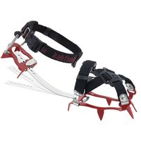 Kahtoola KTS Steel 10 Point Flexi Crampon Red