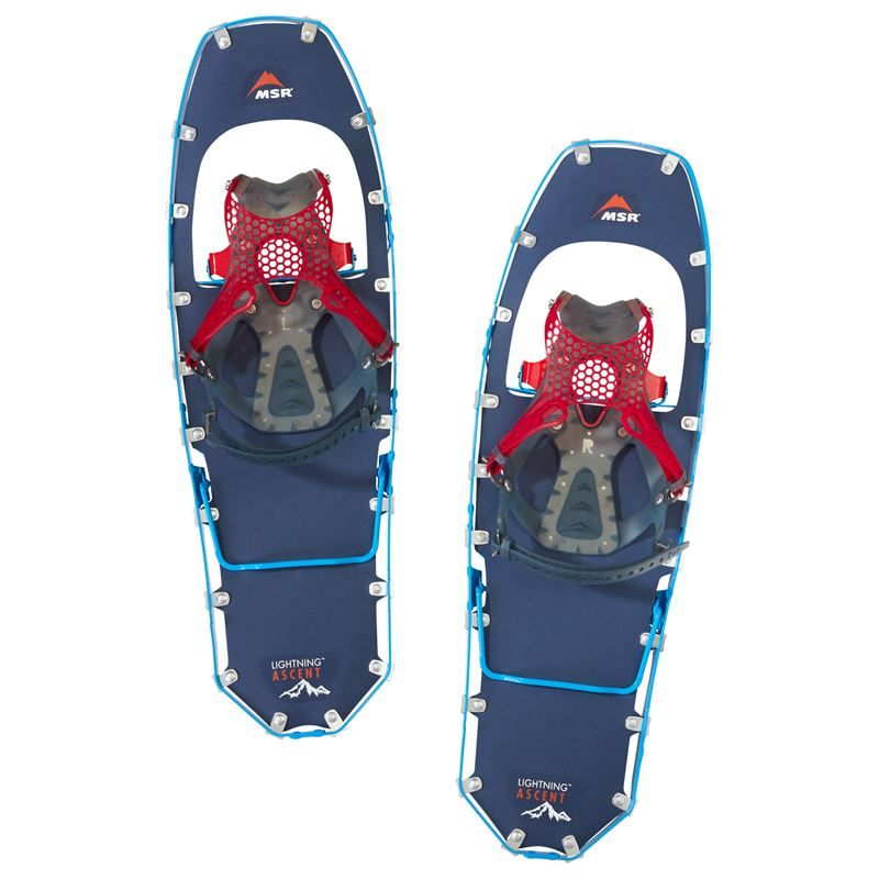 MSR Men's Lightning Ascent Snowshoes Cobalt Blue 25""