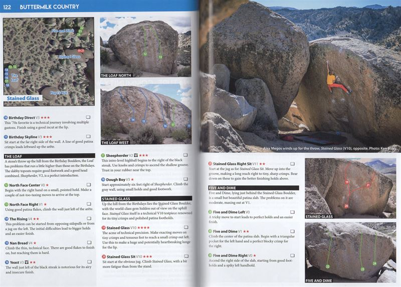 Bishop Bouldering Select pages