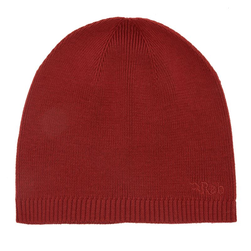 Rab Merino Beanie Red Clay