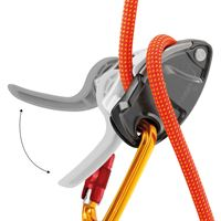 Petzl GriGri + in use