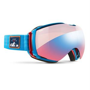Julbo Aerospace Zebra Goggles Light Red Cat 1-3 Blue/Red
