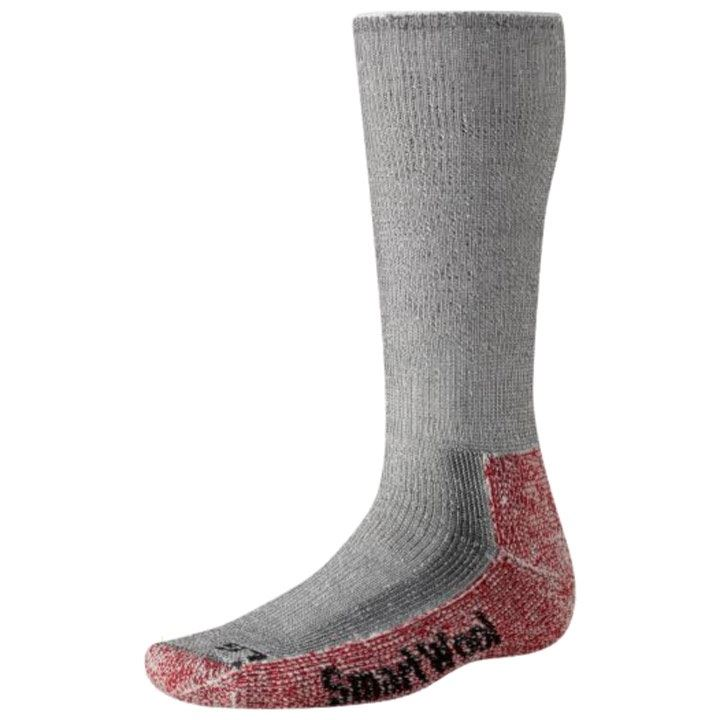 Smartwool Mountaineer Sock Grey/Red