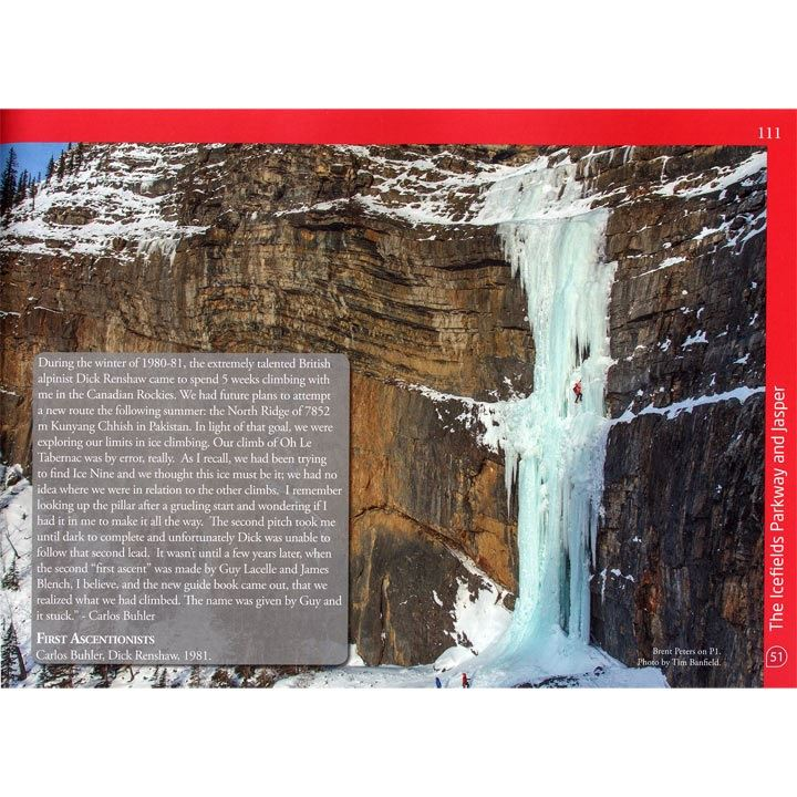 IceLines - Select Waterfalls of the Canadian Rockies pages