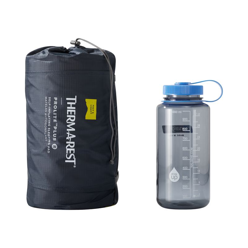 Thermarest ProLitePlus  Regular with 1 Litre Water Bottle for comparison